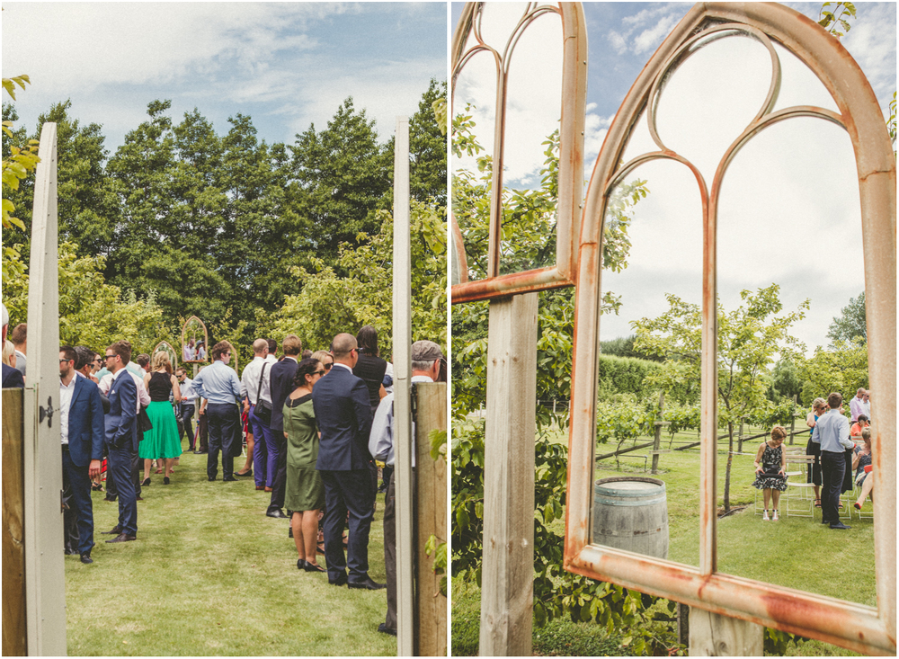 The Landing wedding venue has an outdoor space for wedding ceremonies