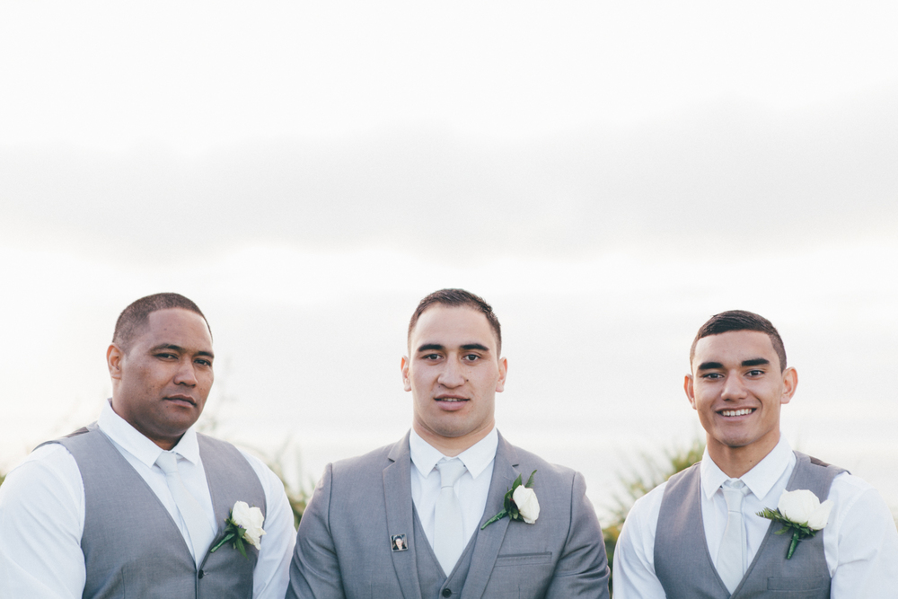 Groom and Groomsmen wedding photos