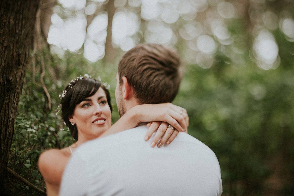 Freelensing wedding photography