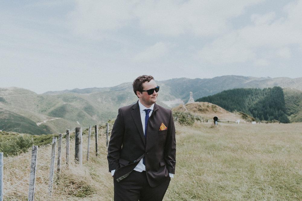A sunny wedding in Wellington