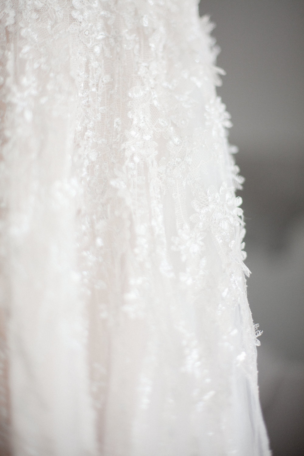 Detail photos of Brides stunning wedding dress