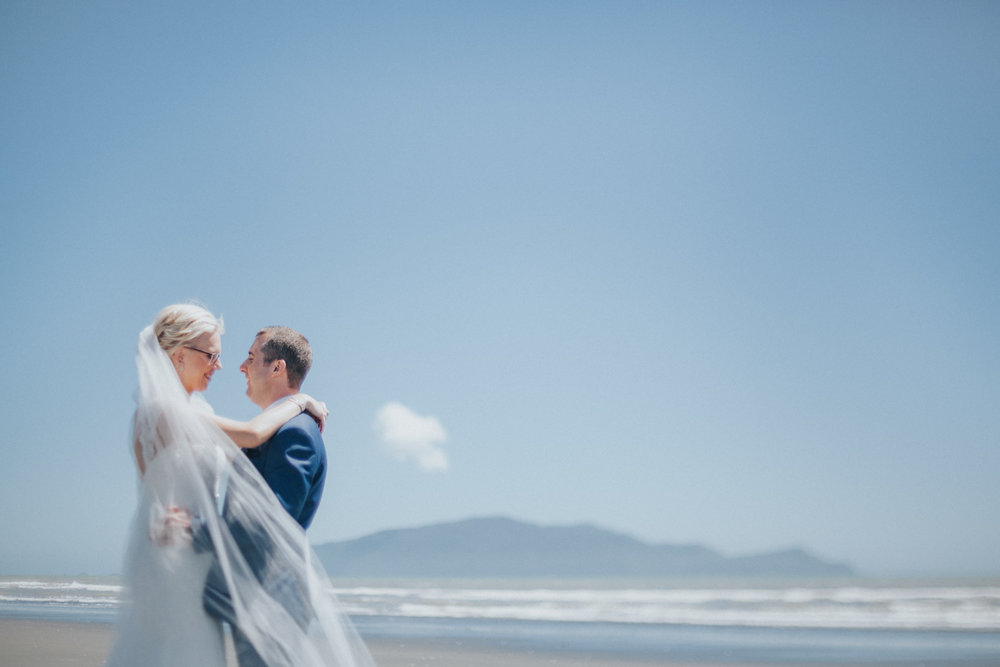 Kapiti Island wedding photos