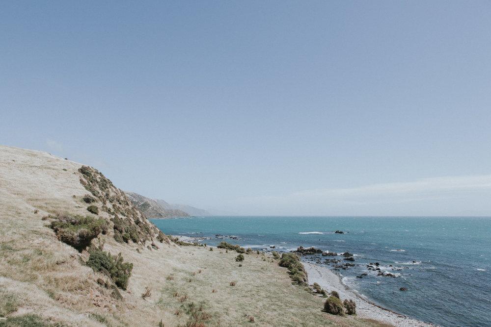 Titati Bay view of West Coast