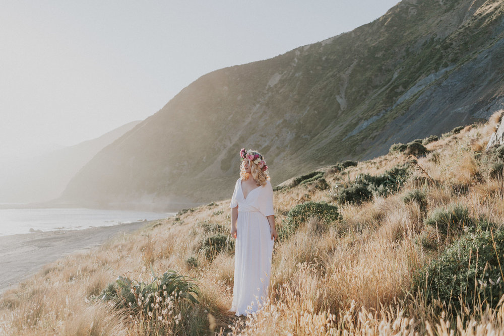 bridal styled shoot in Wellington