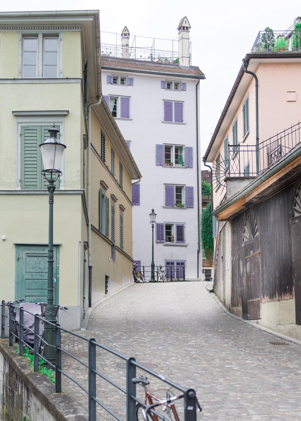 Old Town Altstadt Zurich Carley Rudd Photography