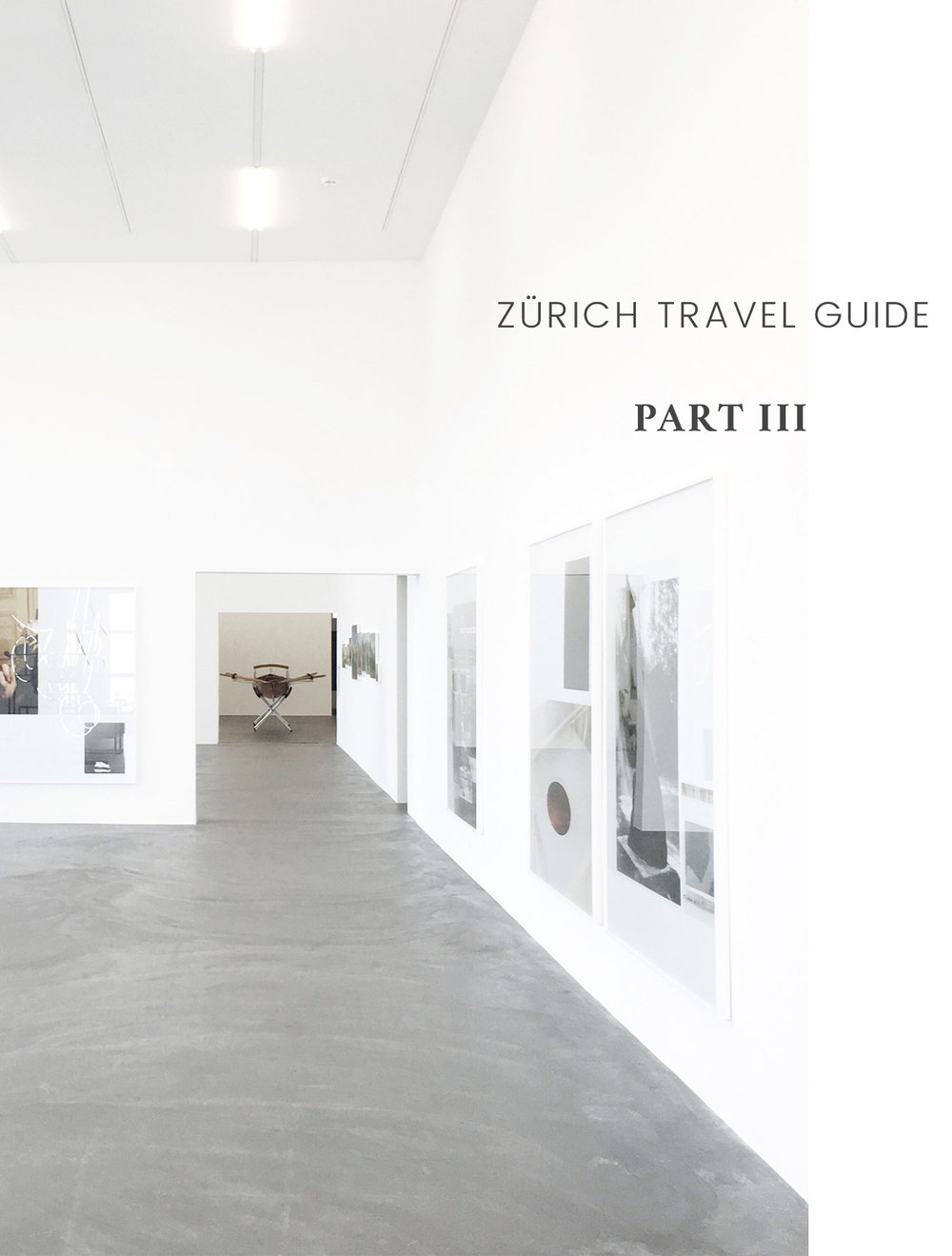 Carley Rudd Photography Zürich Contemporary Art