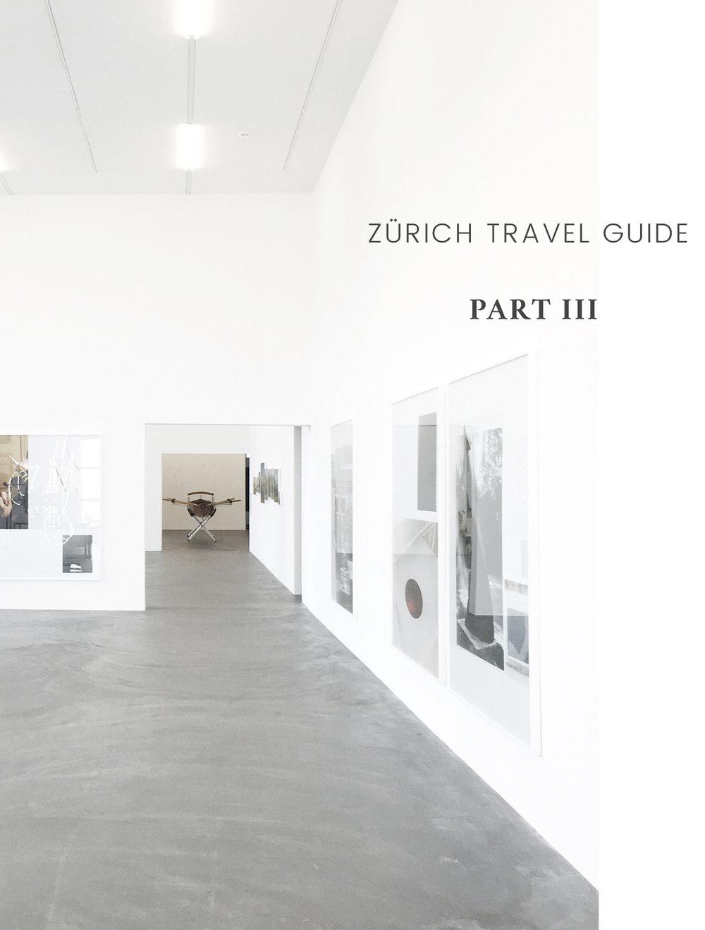 Carley Rudd Photography Zürich Contemporary Art