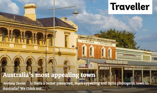 Click here to view recent Top 20 on Traveller.com.au : Australia's most appealing town... we can't argue with that.