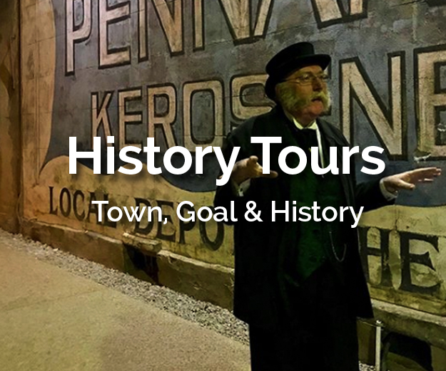 Day or night there is a tour in town that tells a real amazing story