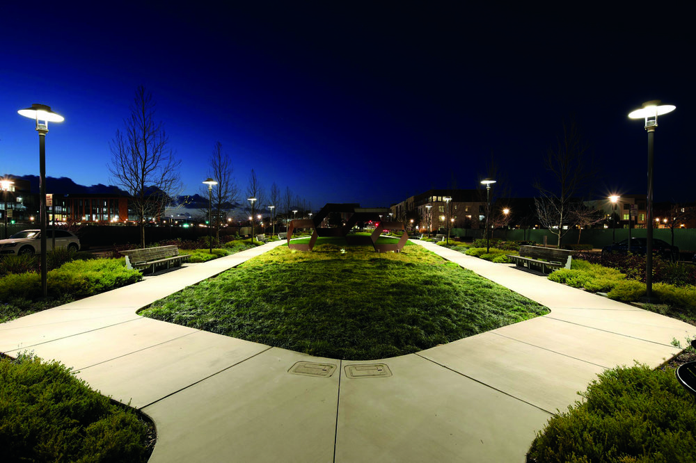 Outdoor Lighting Design Award of ExcellenceArupBay Meadows Phase II - Lighting Designers: Toby Lewis, Yuliya Savelyeva, Elizabeth Cooper, Jake Wayne, Reza Sadeghi, Jacinda Ross, Austin Anderson, Janelle Drouet