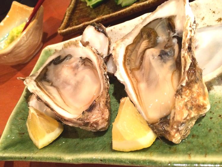 Ostron är goda i Japan också.