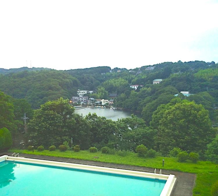 Lite tråkigt väder, men ni ser kanske ändå hur extremt lummigt Japan kan vara när man kommer ut från storstäderna. Naturskönt och dessutom väl utrustat med varma källor att doppa sin trötta lekamen i.