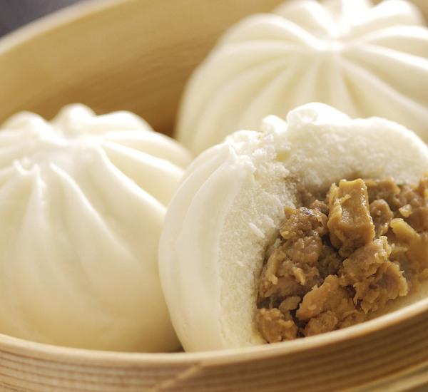 """Ångkokta """"kroppkakor"""", ursprungligen kinesisk mat, är extremt populär snabbmat i Japan."""
