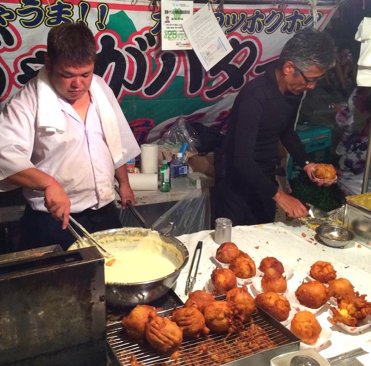 Friterad potatis med en klick smör - jagabata