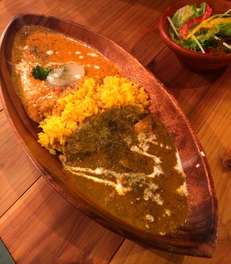 Japan gör sitt bästa för att komma upp på indisk nivå både vad gäller curryns kvalitet och konsumerad kvantitet.