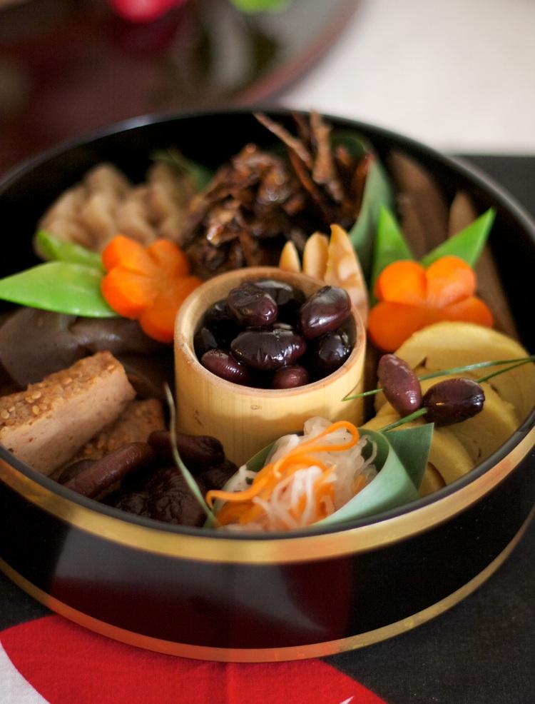 O-sechi - japansk nyårsmat - gott, vackert och nyttigt! Foto: Rieko Mise