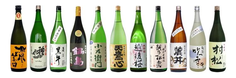 60 sorters sake kan du dricka under en hel kväll för under 300 kr på Sakekurabe i Shinjuku.