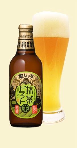 Macha Draft är ett mikrobryggeriöl med grönt te som en av ingredienserna. En växande trend?