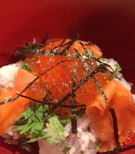 Enkelt är inte att förakta i japanska matsammahang.