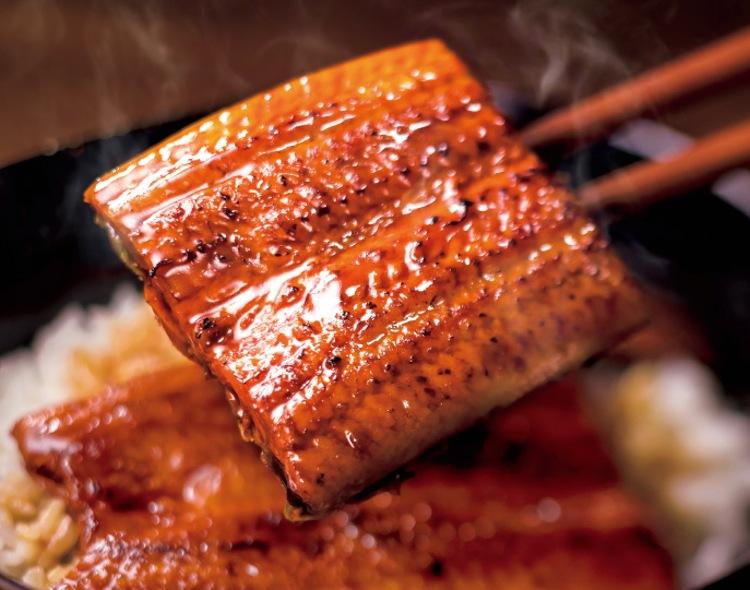 Grillad ål är mums fillibabba enligt Japan Gourmet Guide.  Foto: Gusto