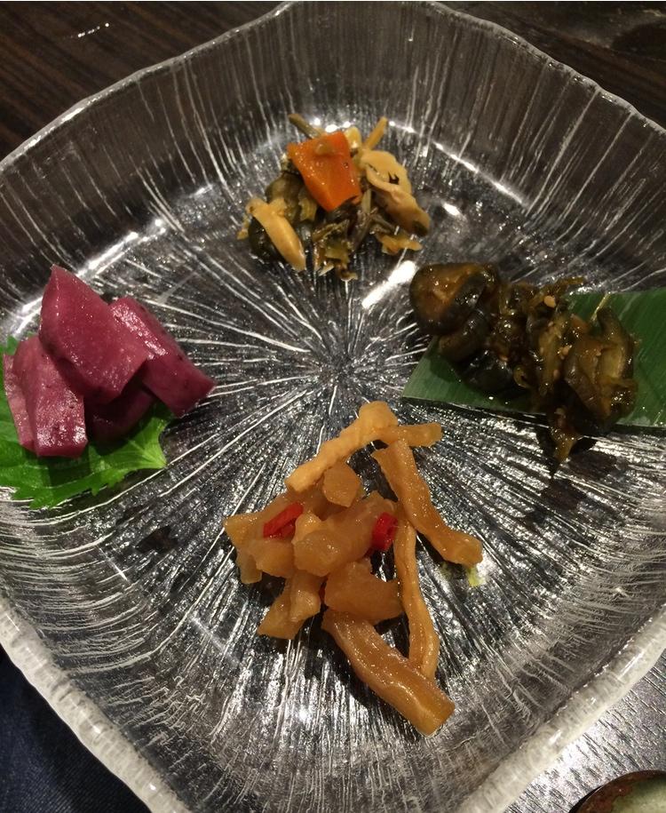 Inlagda grönsaker är en mycket uppskattad del av det japanska köket.