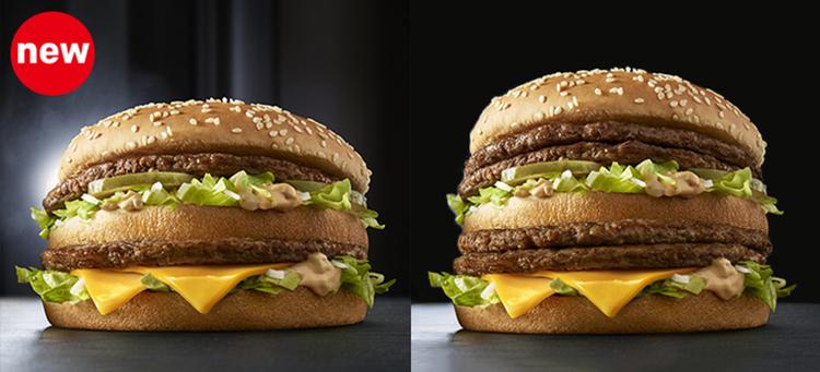 Mycket vill ha mer? Nya Grand Big Mac och Giga Big Mac på McDonalds i Japan.