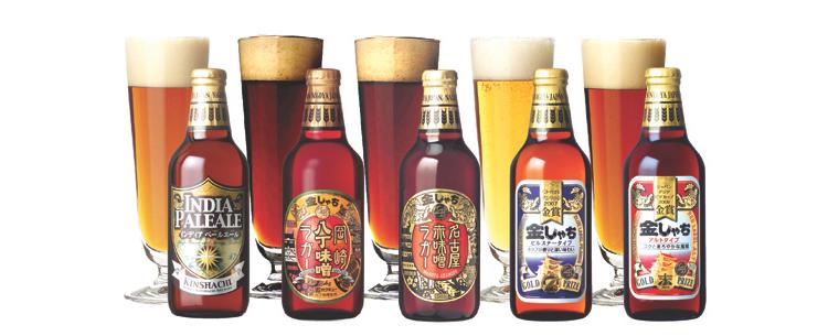 Fem hantverksöl från ett av Japans hundratals mikrobryggerier. Här finns öl för alla smaklökar.