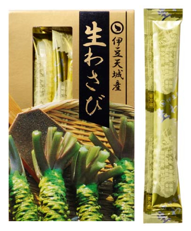 Man får med en portion riven äkta wasabi till burgaren. Appliceras efter ditt tycke och din smak.