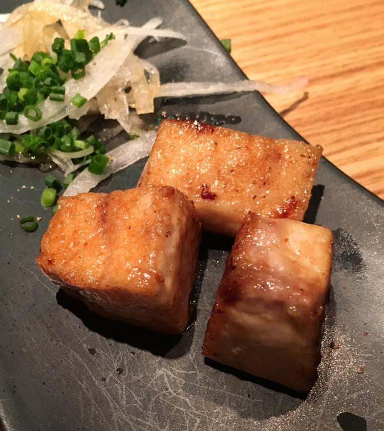 Chu-toro - den mellanfeta delen av tonfisken. Jättegod även när den inte serveras rå.