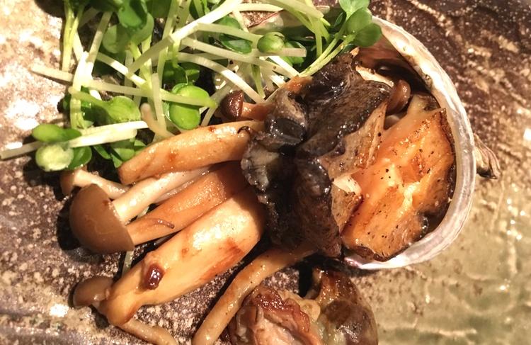 Havsöra -  awabi  på japanska.