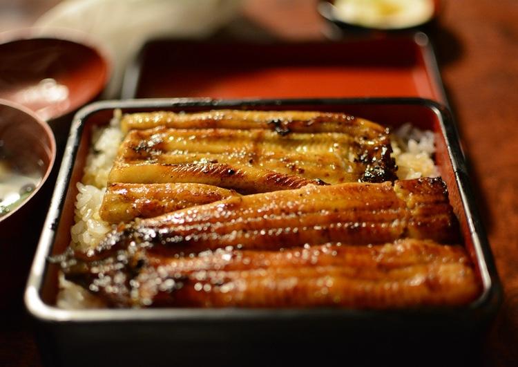 Den grillade japanska ålen är en delikatess som blir allt mer sällsynt och allt dyrare för varje år som går..  Foto: Public Domain