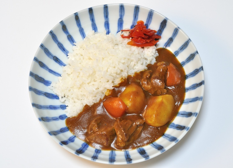 Förvånande för många är nog att curry är den mest populära hemlagade måltiden i Japan.  Foto: Public Domain
