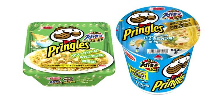 Ramen med smak av Pringles potatischips  Foto: Acecook
