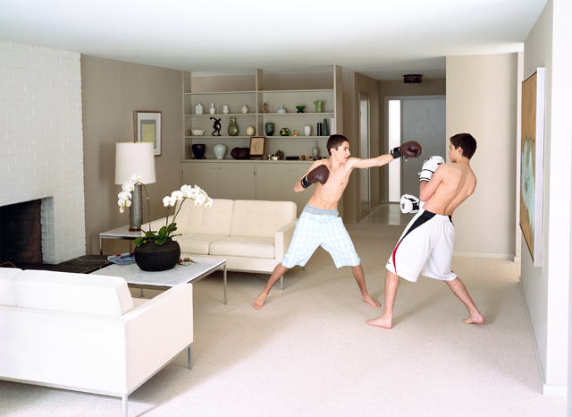 Boxing, 2011, © Jeff Wall