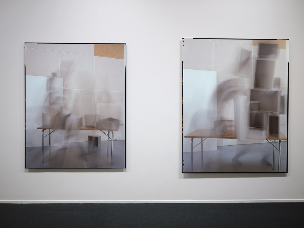 Scree 1  and  Scree 2 , installationphoto from Else Marie Hagen at Galleri K