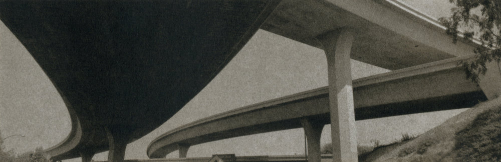 Catherine Opie,  Freeways  (1994–5). All images by Catherine Opie. Courtesy Catherine Opie, Regen Projects & Peder Lund.
