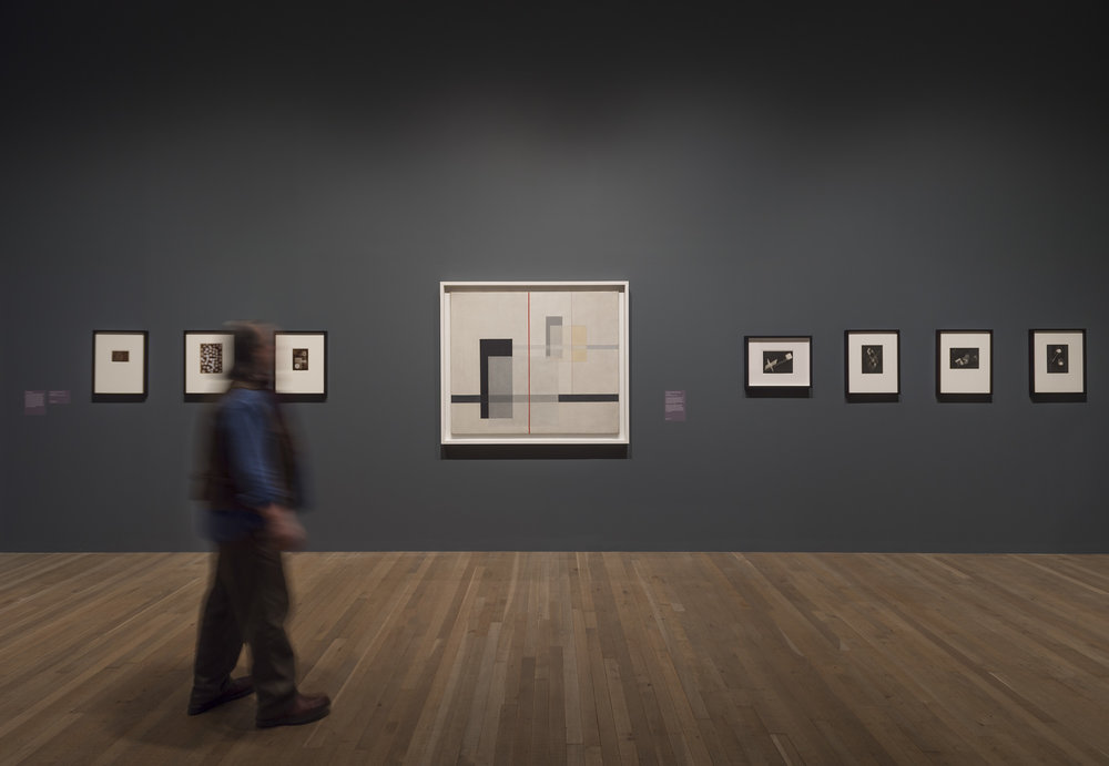 Shape of Light: 100 Years of Photography and Abstract Art,  Tate Modern, 2018, Photo: © Tate (Andrew Dunkley)