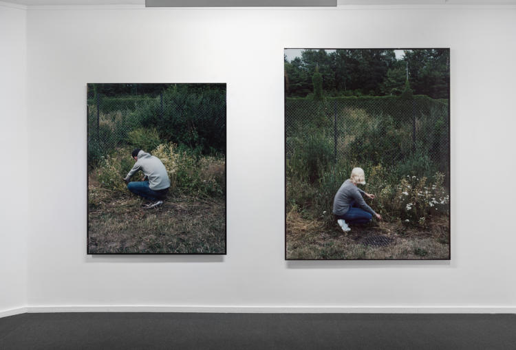 Else Marie Hagen, installation view from the exhibition.