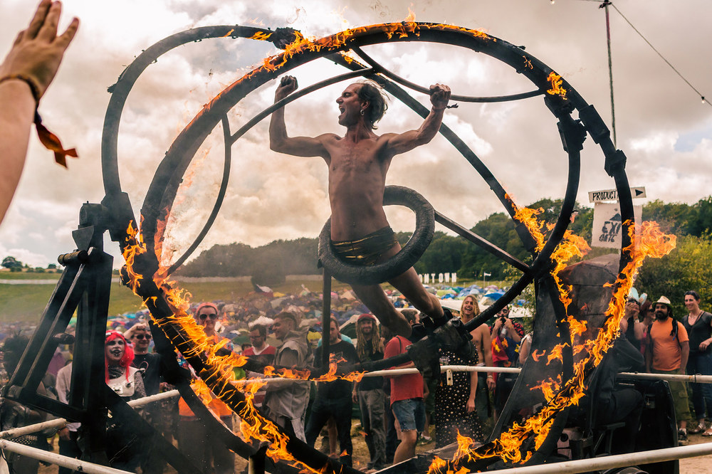 Boomtown Fire Wheel