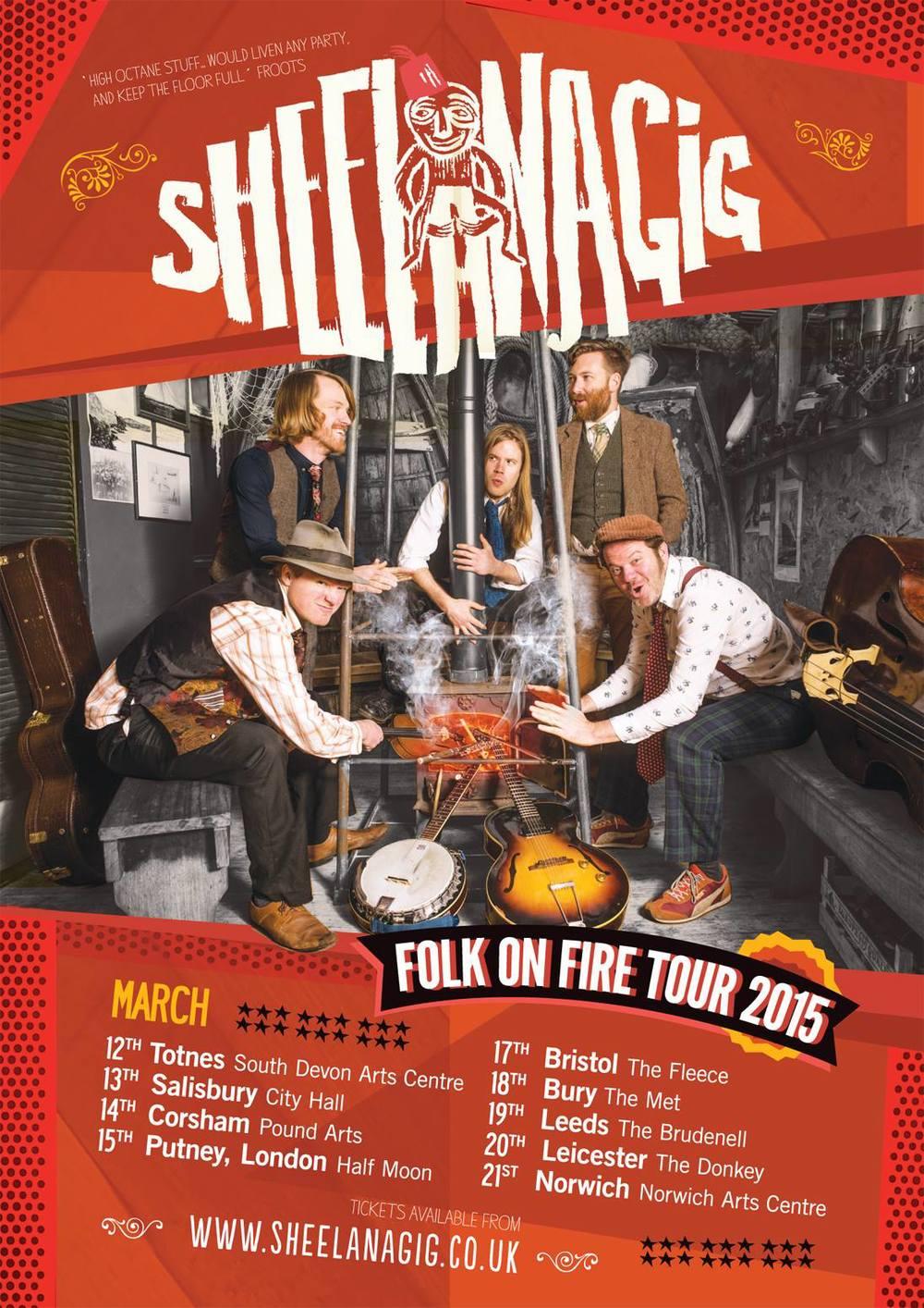 sheelanagig, folk on fire tour, 2015, promo photography