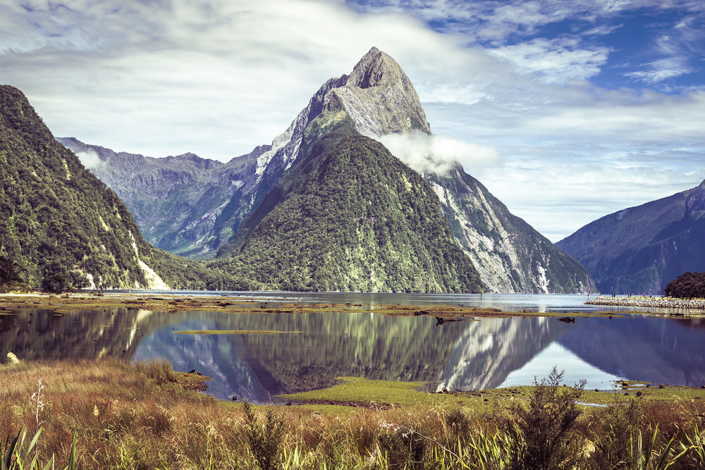 Milford Sound, New Zealand, south island, landscape photographer, Joe Clarke