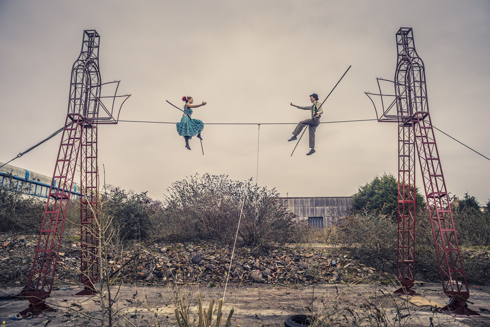 the bullzini family, highwire, towers, joe clarke, photographer, bristol, sony a7r, zeiss 16-35