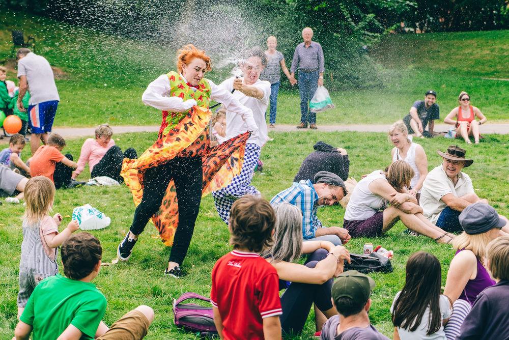 Cirque Bijou, Circus Cafe, Bristol Harbour Festival 2016