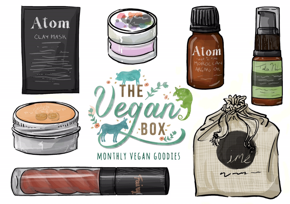 Atom Ghassoul Clay Mask The Vegan Box