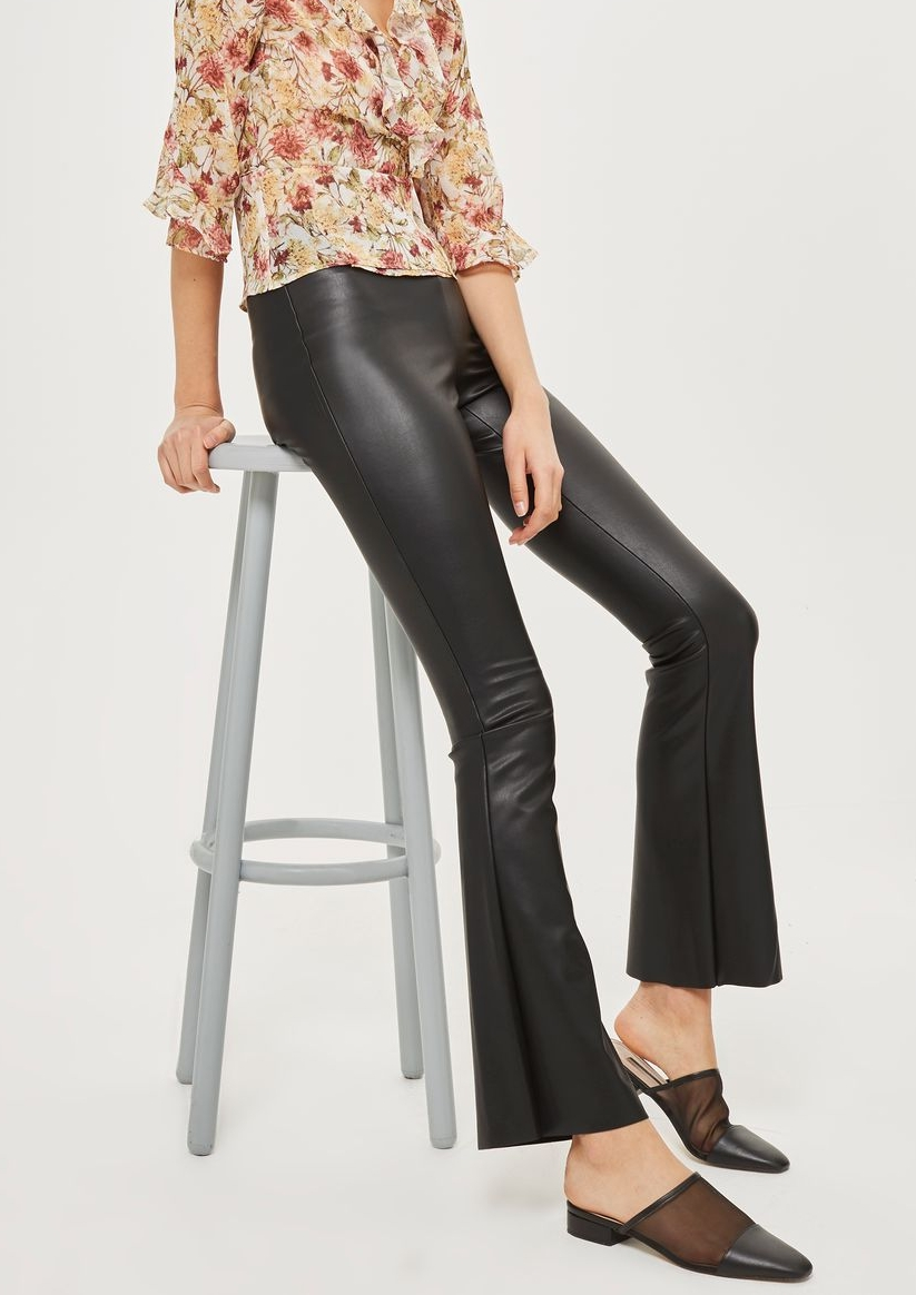 Faux Leather Flares -Topshop £36.00
