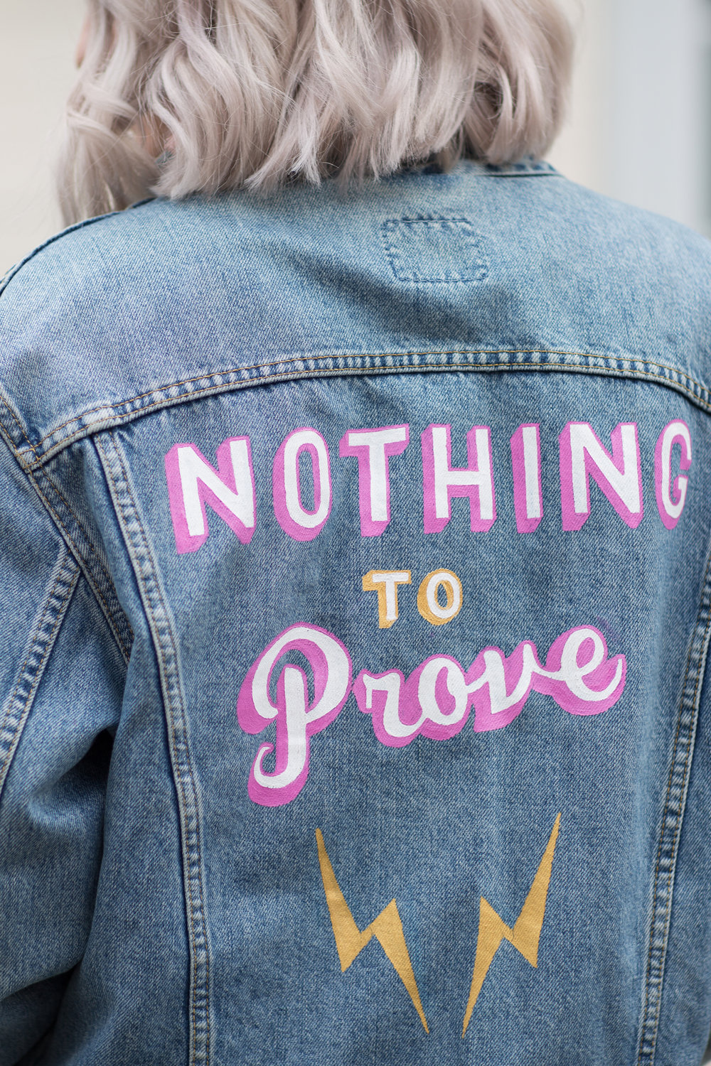 Nothing to Prove - Jessica Withey - Blog