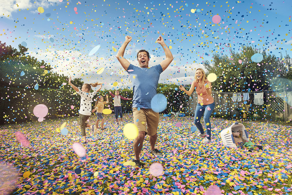 MCDONALD JONES HOMES |  CONFETTI