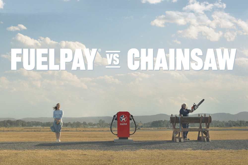 CALTEX FUELPAY  | chainsaw