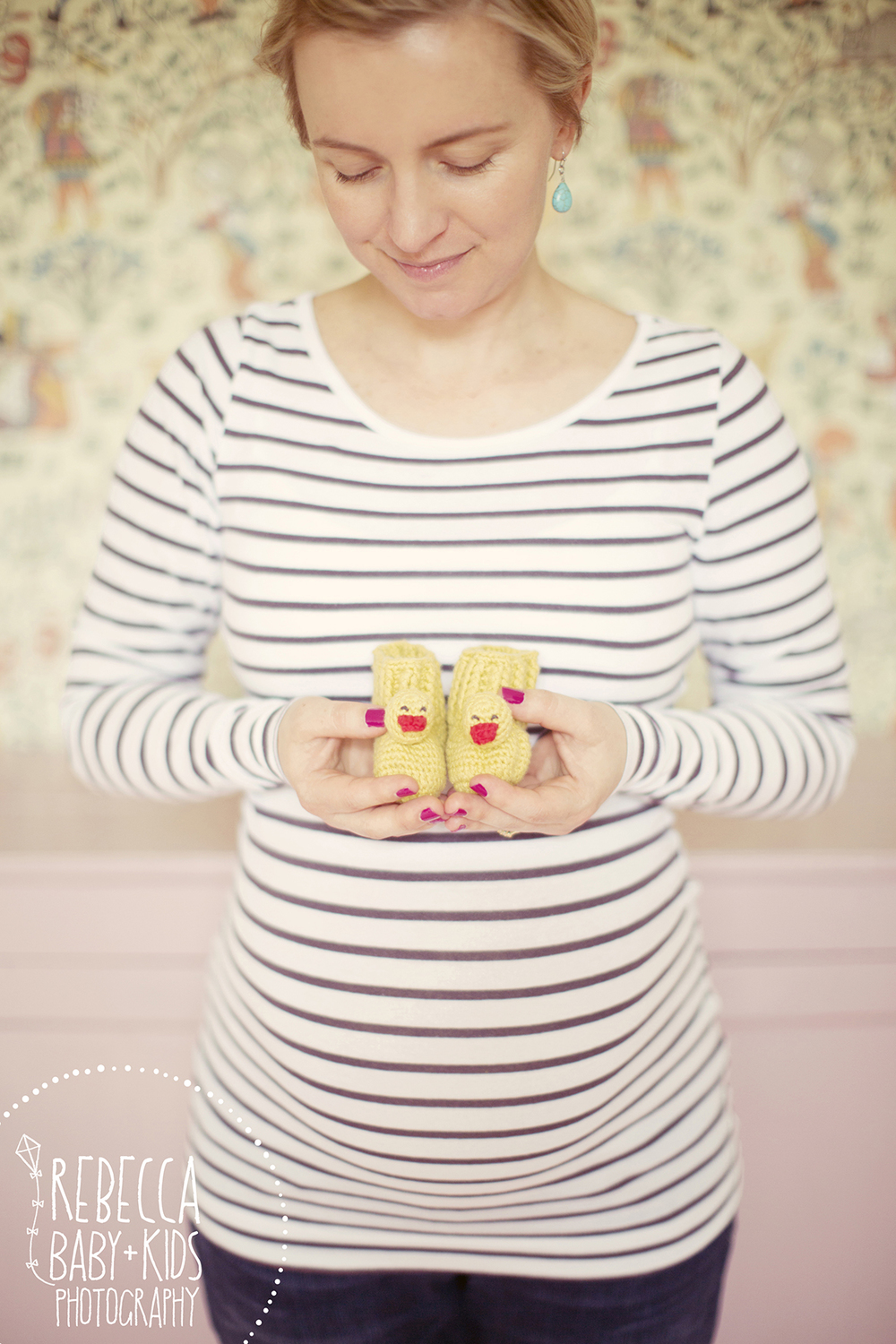 Photo by Rebecca Baby & Kids Photography Booties from Cath Kidston