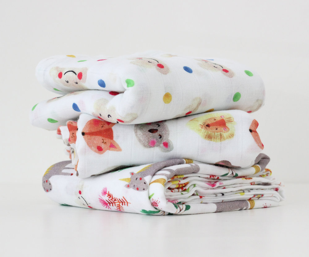The Fox in the Attic swaddle blankets coming soon!